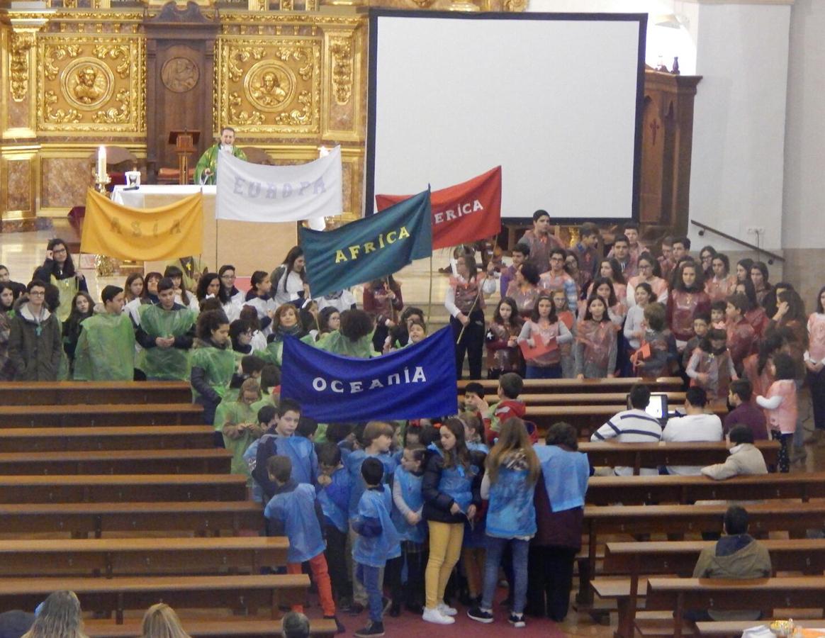 Santa Cruz de Mudela se sumó a la Infancia Misionera