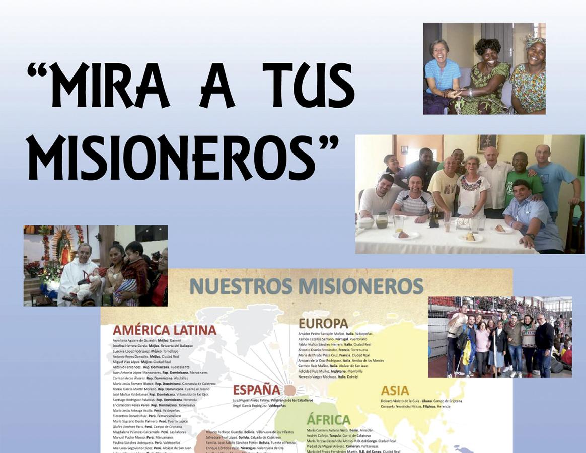 """""""Mira a tus misioneros"""" Día del Misionero Diocesano 2017"""